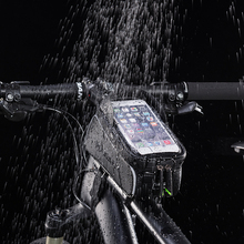 ROCKBROS Waterproof Touch Screen Cycling MTB Road Bike Bicycle Bags Top Front Tube Frame 6.0 Phone Case Accessories