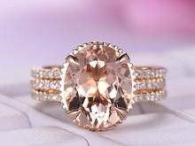 все цены на Huitan 2PC Bridal Ring For Women Fabulous Champagne Crystal Stone Prong Setting Rose Gold Color Wedding Engagement Ring Jewelry онлайн