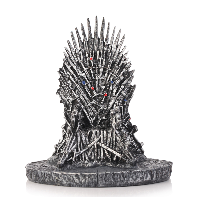 Self Defense Supplies 100% Quality Dropshipping New The Iron Throne Game Of Thrones Action Figure Toys Resin Desk Decor Gift For Children Home Decor The Latest Fashion