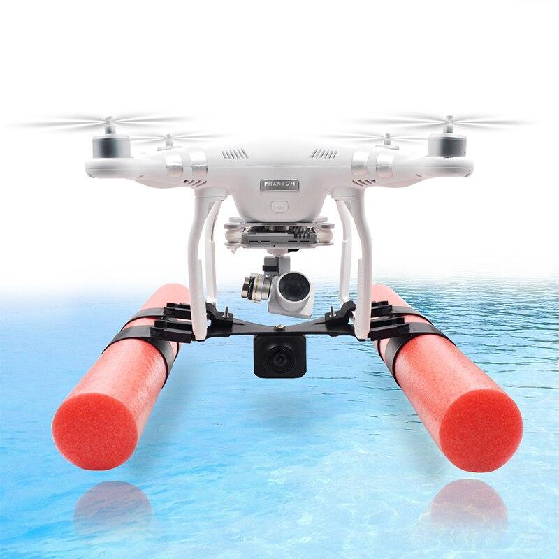 Equipo de aterrizaje elevado flotador piernas de espuma en el aterrizaje de agua para DJI Phantom 3/4 Drone gopro Accesorios
