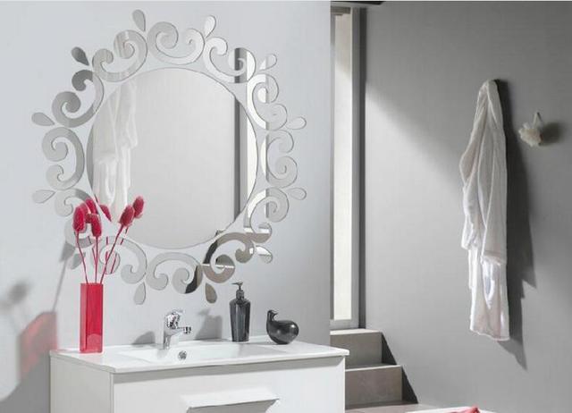 gallery of diy spiegel acryl laciness d toegangsweg plafond ronde spiegel decoratie home decor. Black Bedroom Furniture Sets. Home Design Ideas