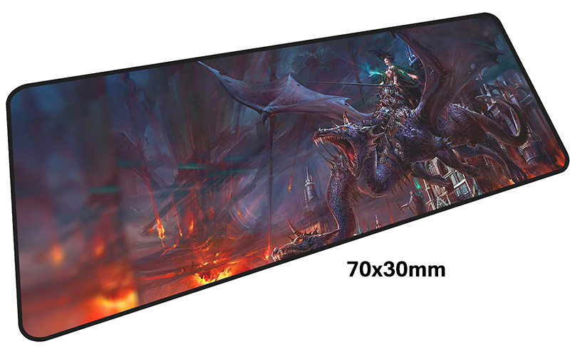 dragon age mouse pad gamer Fashion 700x300mm notbook mouse mat large gaming mousepad large locked edge pad mouse desk padmouse