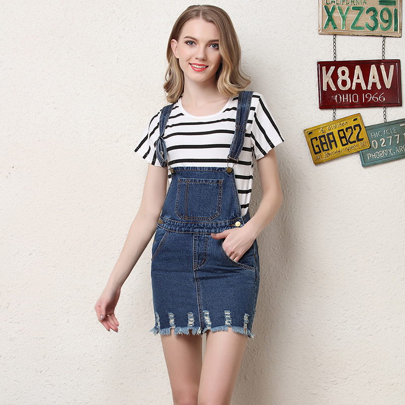 Denim Skirt Overall Promotion-Shop for Promotional Denim Skirt ...