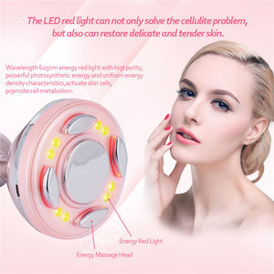 Image 5 - Ultrasonic Facial Body Slimming Massager RF Cavitation Therapy Fat Removal Burner LED Photon Skin Rejuvenation Weight Loss P54
