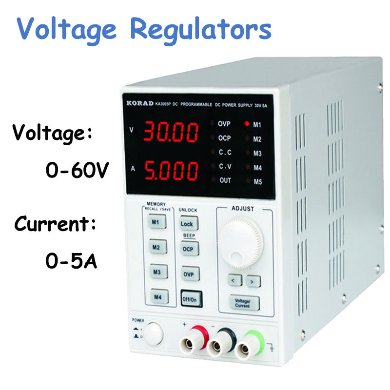 KA6005D -Precision Variable Adjustable 60V, 5A DC Linear Power Supply Digital Regulated Lab Grade cps 6011 60v 11a digital adjustable dc power supply laboratory power supply cps6011
