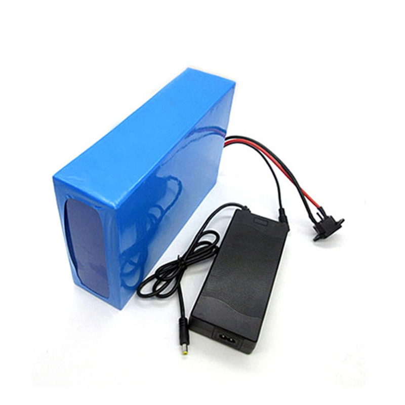 GTF 48V 1000W lithium battery 48V 20AH ebike battery 48 V 20AH electric bike battery with 30A BMS 54.6V 2A Charger 1200w 48v scooter battery electric bike battery 48v 20ah lithium ion battery pack with pvc case 30a bms 54 6v 2a charger