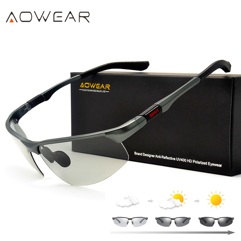 AOWEAR Photochromic Sunglasses s