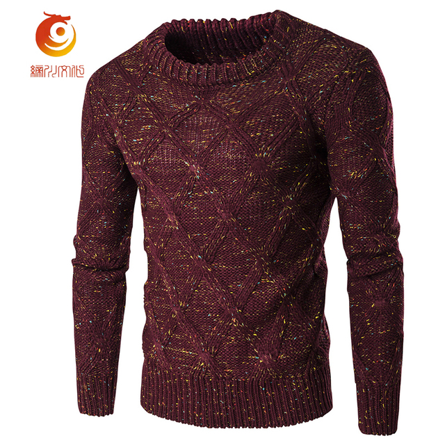 d2380f416ace Sweater Men Pull Homme O Neck Sweaters Knitted Long Sleeve Men ...