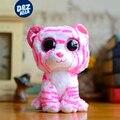 6 ''ty beanie boos tigre de pelúcia mini rosa linda boneca tigre de pelúcia brinquedos brinquedos de pelúcia de presente