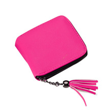 Short Wallets Women Tassel High Quality Fashion Brand New Design Wallet Female Hasp Dollar Price Long