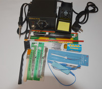 220V 110V EU US PLUG 936 Soldering Station Electric Iron Ceramic Heating Element Lots Gift As