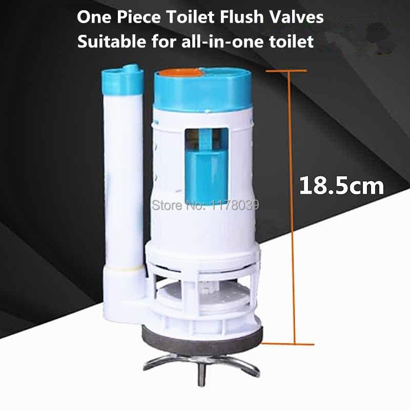 Comprar 18.5 cm una pieza Válvulas de descarga adecuado para todo en uno aseo, asientos de inodoro tanque de agua una pieza de limpieza drenaje Válvulas, j17428 de toilet flush valve fiable proveedores en Jano Flagship