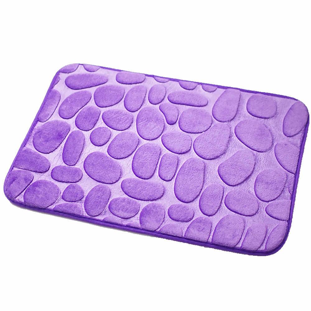 Alfombras Pebble memoria espuma alfombra de baño alfombrillas de suelo alfombra alfombras dormitorio piso antideslizante #3