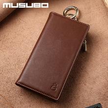 купить Original Musubo Brand Case For iPhone 4 Luxury Genuine Leather wallet phone bag Cover for Apple iphone 4s flip cases Coque дешево