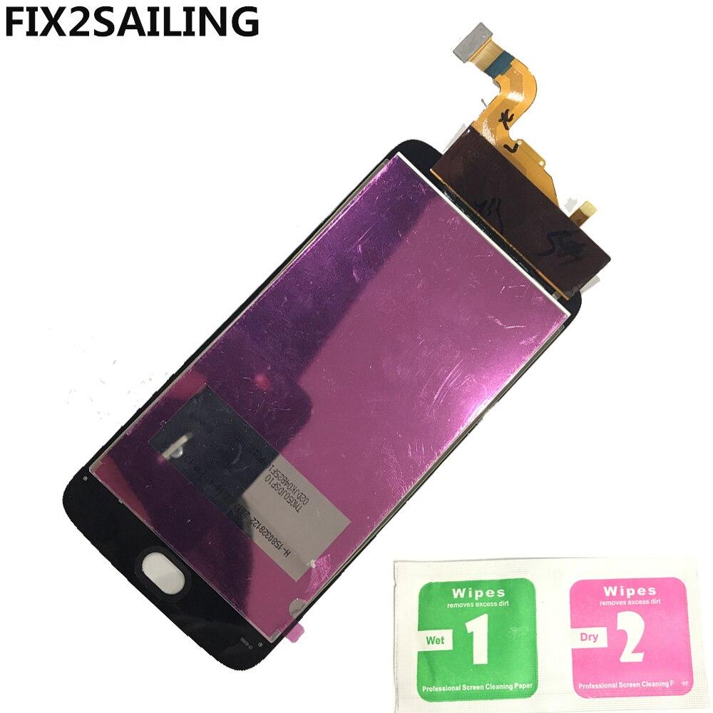 D'affichage Pour Motorola Moto E4 XT1766 XT1763 XT1762 XT1772 100% de Travail LCD Affichage à L'écran Tactile Digitizer Assemblée Remplacement