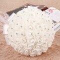 LS4G Пены Розы Искусственные Цветы Невесты Букет Партия Декор Пена букет Роз для Свадьбы Украшения