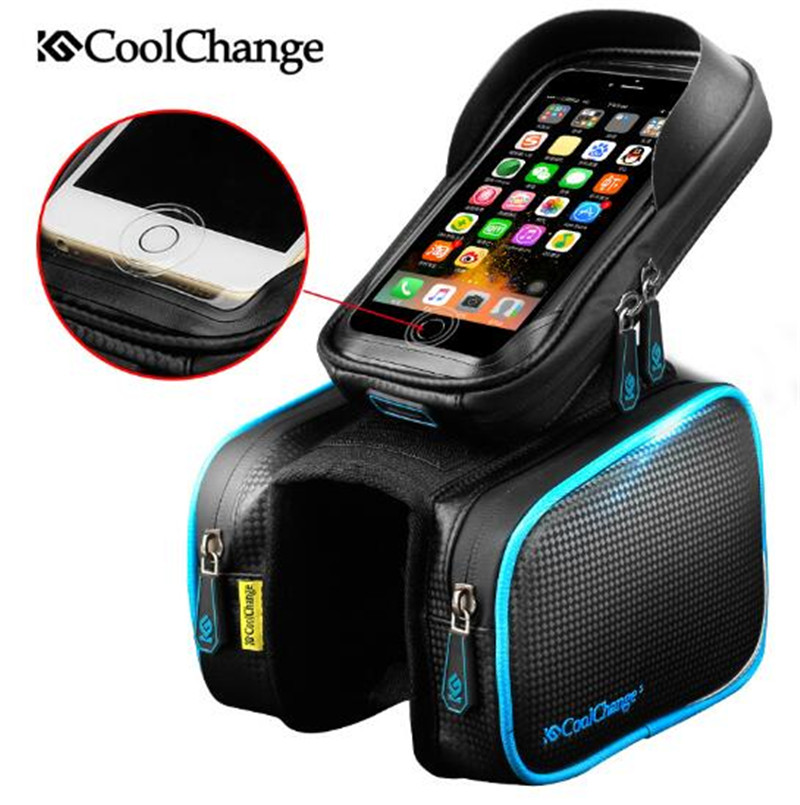 Double, Front, Bike, Phone, Accessories, Head