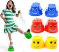 Cara de La Sonrisa de Plástico al aire libre De Entrenamiento del Equilibrio Zancos de Salto Zapatos para Niños Niños Andador Juguete Monstruo Pies, Diversión y Deportes al aire libre