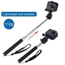 Portable Extendable Camera Selfie Stick Action Camera Handheld Monopod Light Tripod for Gopro HERO 5/2/3/3+/4 for DV