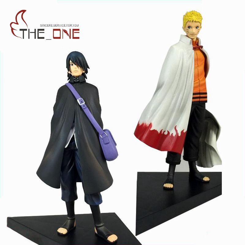 2 Pcs/Set 18 cm 7 Cartoon The Last Naruto & Sasuke Anime Action Figure PVC Toys Kids Adult For Decoration Collection Gift  P002 anime naruto q version pvc action figure toys kakashi naruto sasuke figma figure toy gift