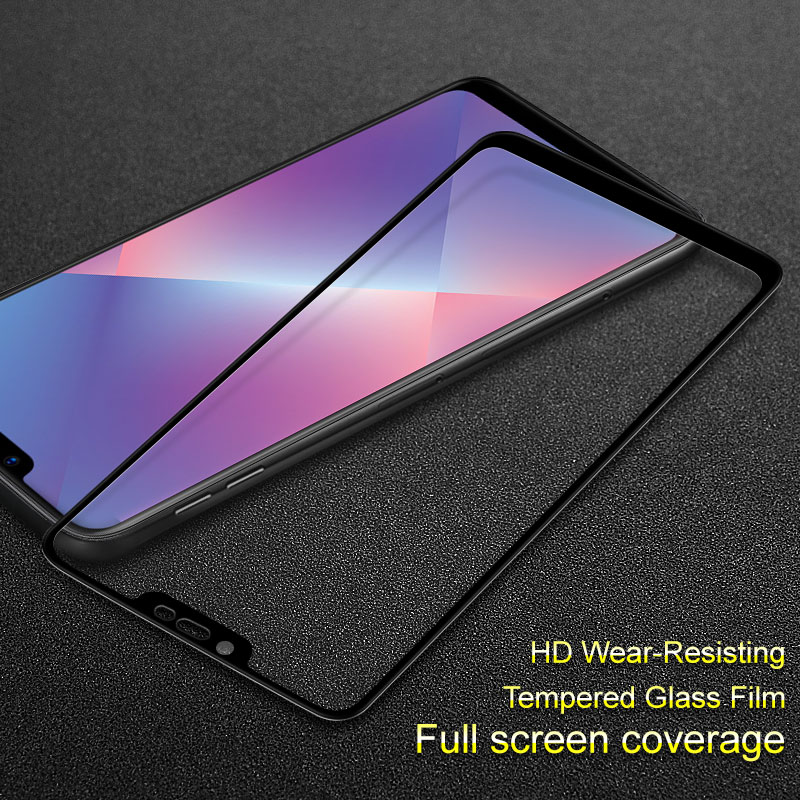 OPPO A5 Tempered Glass IMAK Full Coverage Full Screen Protection OPPO A5 Glass Anti-scratch Flim for OPPO A 5 Screen Protector