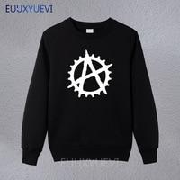 Anarchy Cog BMX New Fashion Men's sweatshirts Cotton Man Clothing hoodies pullover Free Shipping Wholesale