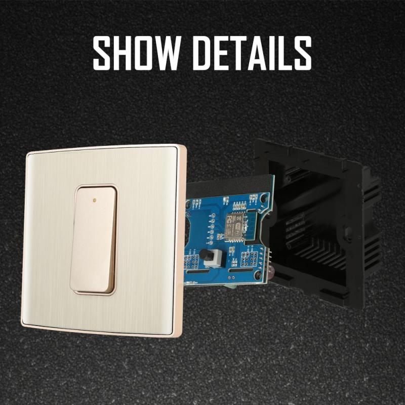 Wifi Wall Switch WITHOUT TOUCH (1,2 or 3 Gang) - Hardware - Home