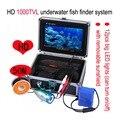 """50 M 7 """"LCD 1000TVL Câmera Subaquática Da Pesca Câmera de Vídeo Subaquático para a Pesca de Peixe No Gelo Finder Monitoramento W2095"""