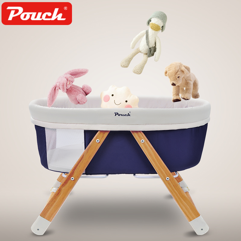 2018 Sale Special Offer Foldable En Baby Crib Pouch Baby Bed Eco-friendly Cradle Multifunctional Folding Travel Concentretor