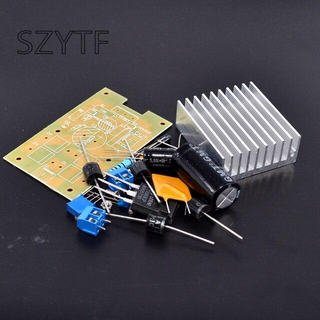 LT1083 מתכוונן אספקת חשמל לוח גבוה כוח ליניארי מתכוונן כוח מודול 7A עם עצמי התאוששות ביטוח