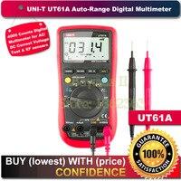Цифровой мультиметр UT61A с автоматическим диапазоном  3999 отсчетов  переменный/постоянный ток напряжения  DMM с сопротивлением и измерением hFE