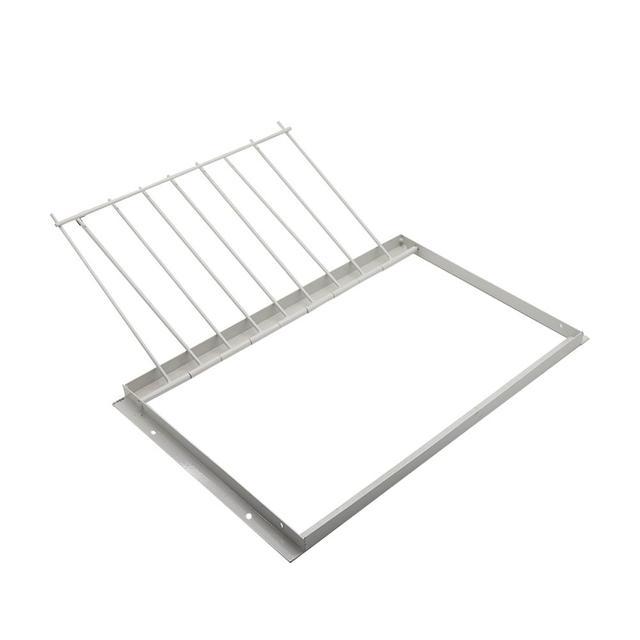 30/40*26cm Pigeon Door Metal Bars Single Entrance Trap 4