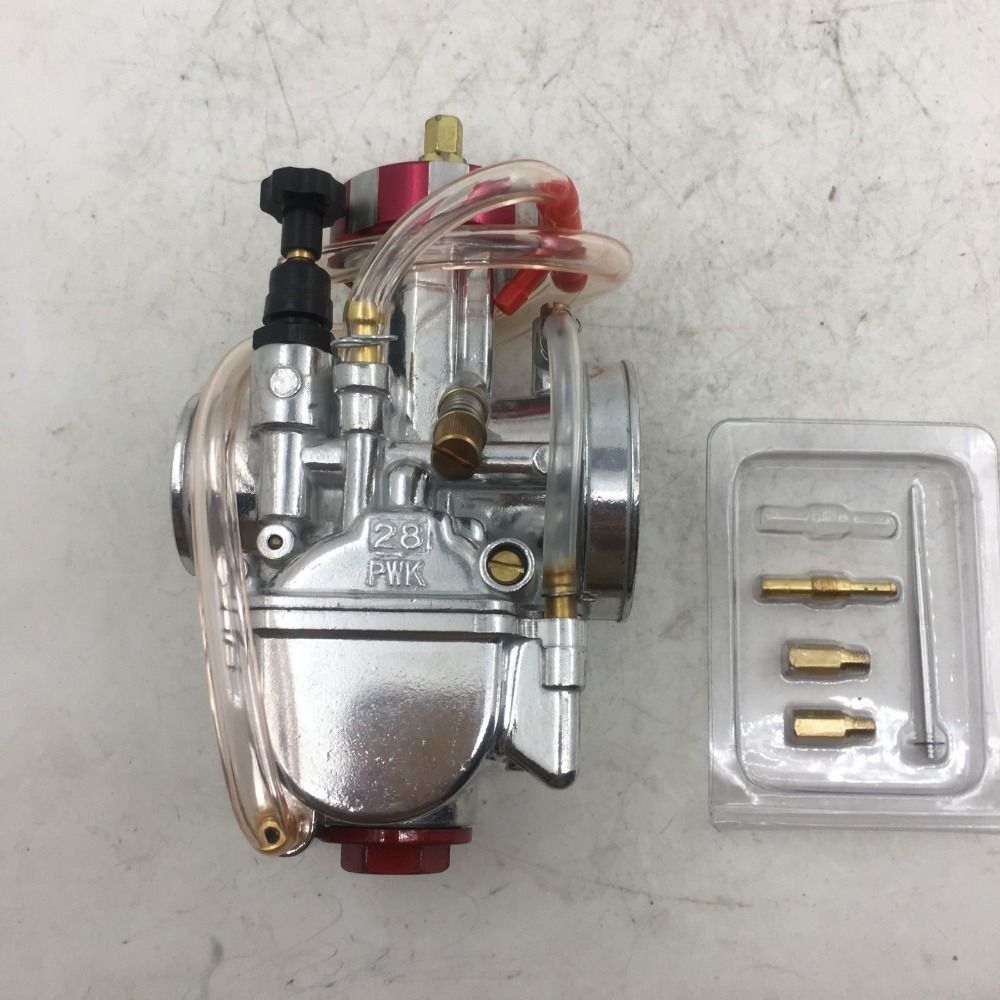 sherryberg PWK28 28mm chrome Carburettor Racing Round Head for mikuni Keihin Carb 32PWK for Honda yamaha