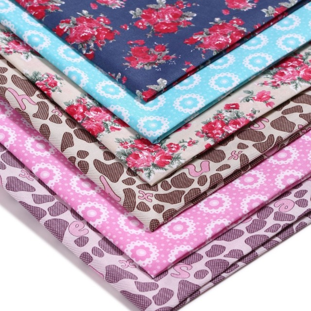 Baby Bedding Sheet Sewing Different Giraffe Pattern Pink Colors 100% Polyester Fabric Crafts Home Textile Clothes Width150*100cm