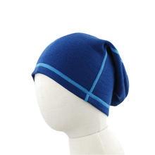 100% Merino wool kids winter beanies thermal unisex baby boys girls hats children bonnet outdoor accessories 6months-14years