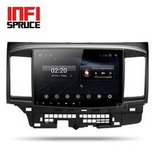 Android 7.1 автомобиль DVD для Mitsubishi Lancer 2005-2016 с 10.1 дюймов 2 DIN 3G/4 г GPS радио Видео плеер восемь core навигационная