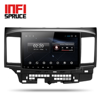 Android 7 1 Car DVD For Mitsubishi Lancer 2005 2016 With 10 1 Inch 2 DIN