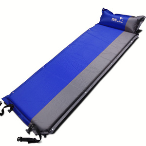 Image 2 - 2020 Hot sale (170+25)*65*5cm single person automatic inflatable mattress outdoor camping fishing beach mat on sale/ wholesale