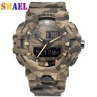New Top Luxury Brand Sanda Men Sport Watches Men's Quartz LED Analog Clock Man Military Waterproof Wrist Watch Relogio Masculino