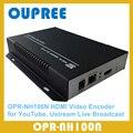 OPR-NH100N H.264 Codificador De Vídeo HDMI para IPTV, Transmissão ao Vivo, funciona com wowza, xtream de códigos, youtube hdmi encoder.