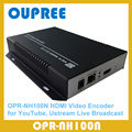 OPR-NH100N H.264 HDMI Video Encoder for IPTV, Live Stream Broadcast, works with wowza, xtream codes, youtube hdmi encoder.