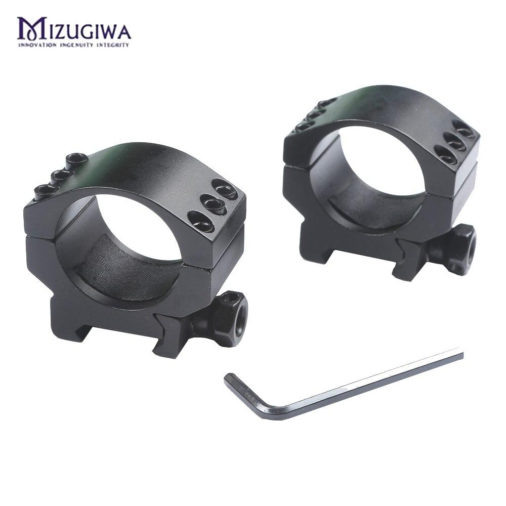 Mizugiwa-Low-Profile-6-Bolts-30mm-Ring-Weaver-Heavy-Duty-20mm-Picatinny-Rail-Base-Scope-Mount (2)