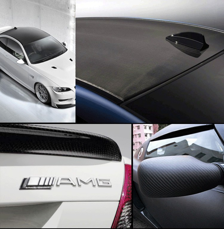 Image 3 - 500mmx2000mm 3D Carbon Fiber Vinyl Film Car Sticker Waterproof Car Styling Wrap Auto Vehicle Detailing accessories Motorcycle-in Car Stickers from Automobiles & Motorcycles
