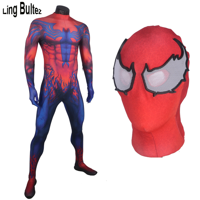 Ling Bultez High Quality New Spiderman Cosplay Costume Toxin Costume Spandex Toxin Suit Venom Cosplay Costume  sc 1 st  AliExpress.com & Ling Bultez High Quality New Spiderman Cosplay Costume Toxin Costume ...