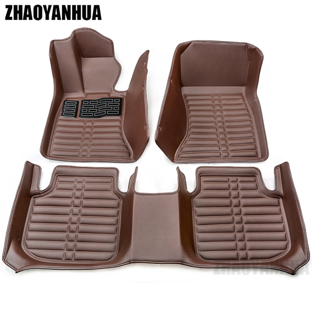 Custom Fit Car Floor Mats For Audi A6 C5 C6 C7 A4 B6 B7 B8 Allroad