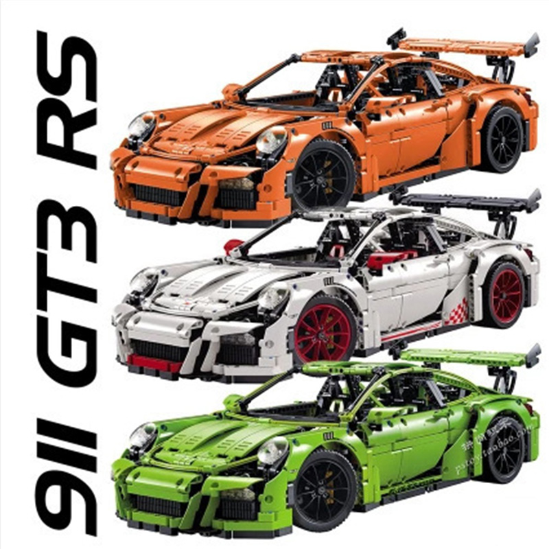 Technic aPorsche 911 GT3 RS fit for LegoING 42506 race car children bricks model building sale toys gift for kids or boyfriend