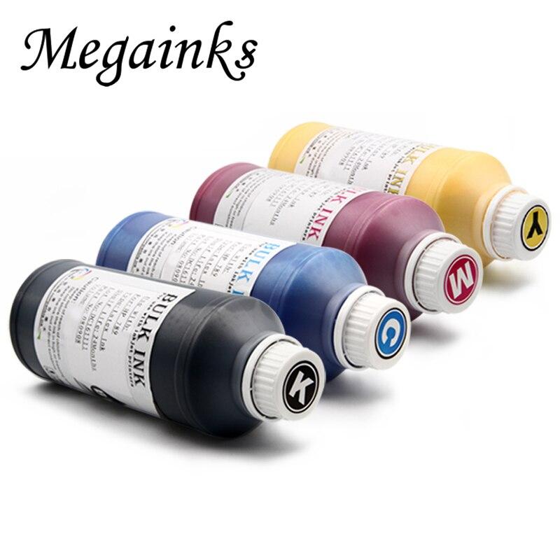 500ml DTG textile ink for Epson Rioch Mimaki Fuji Konica Nozzle Flatbed printer