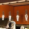 Современные стеклянные светодиодные подвесные светильники для ресторана  кухни  лампы для бара  кафе  Hanglamp  скандинавские подвесные светил...