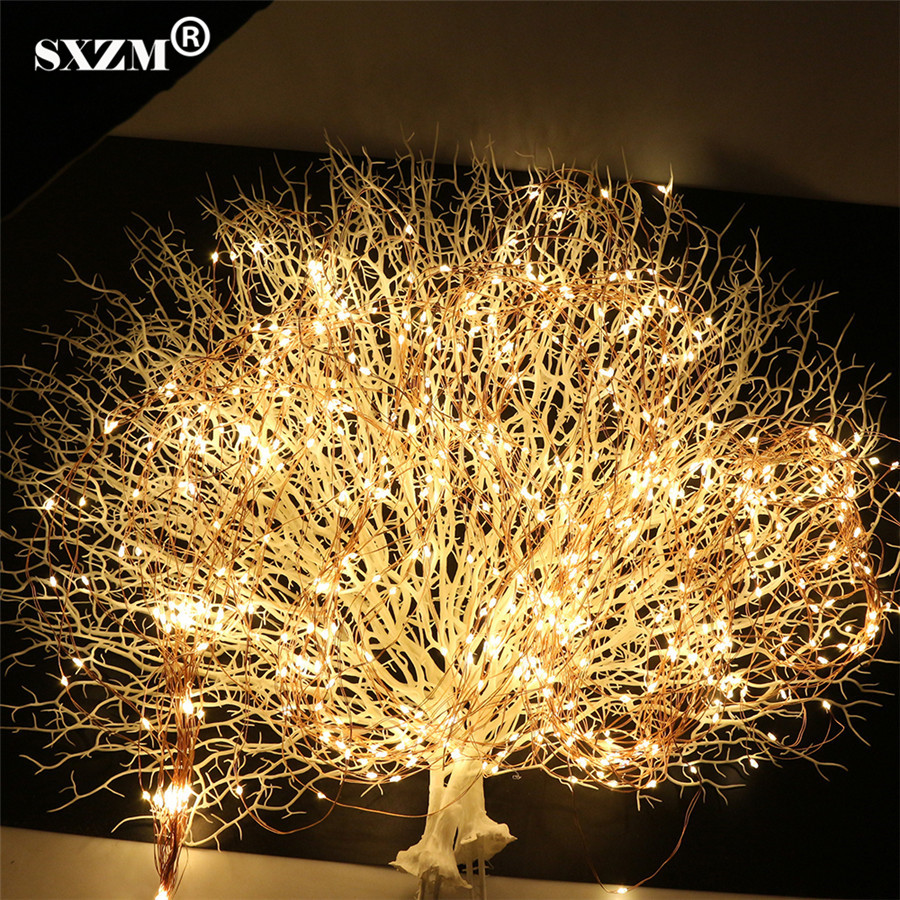 12V 20X2Meter 400leds Led String Light Super Soft Flexible Strip DC 5.5X2.1mm Outdoor Decoration Xmas Tree Garden Party