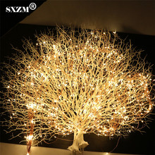 SXZM 12V 20X2Meter 400leds Led string Light Super Soft flexible strip DC 5.5X2.1mm outdoor decoration Xmas tree,Garden,Party